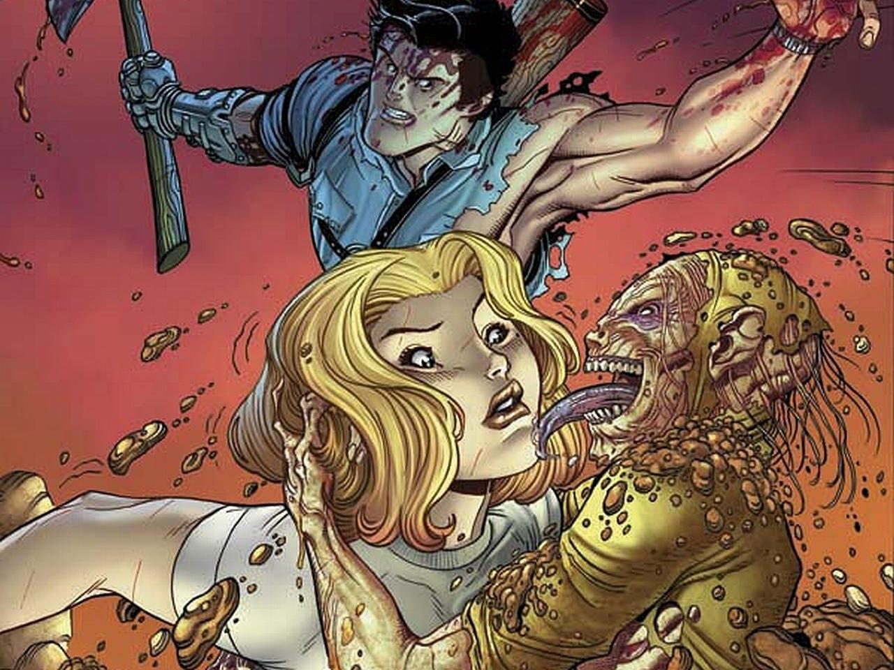 Danger Girl And The Army Of Darkness wallpapers HD quality