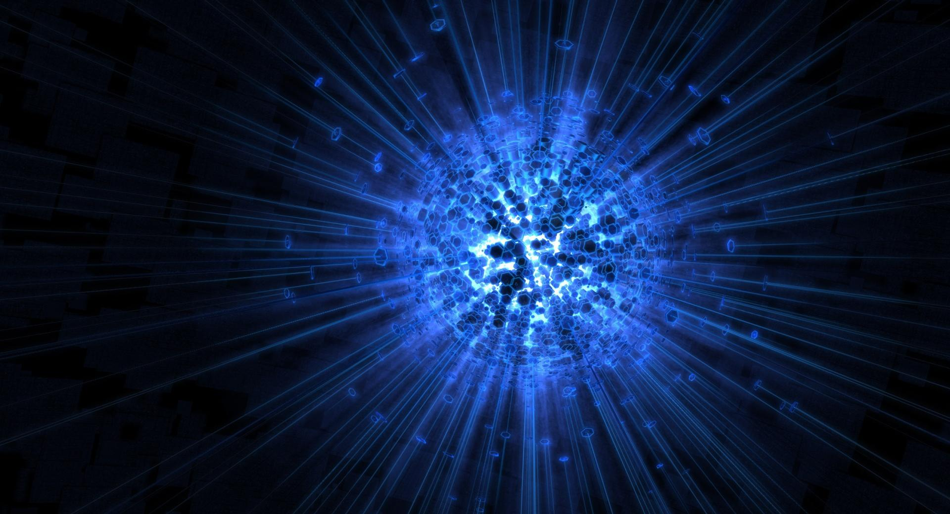 Digital Blue Sphere wallpapers HD quality