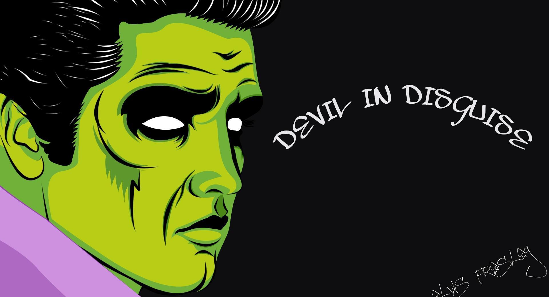 Elvis Presley Devil wallpapers HD quality