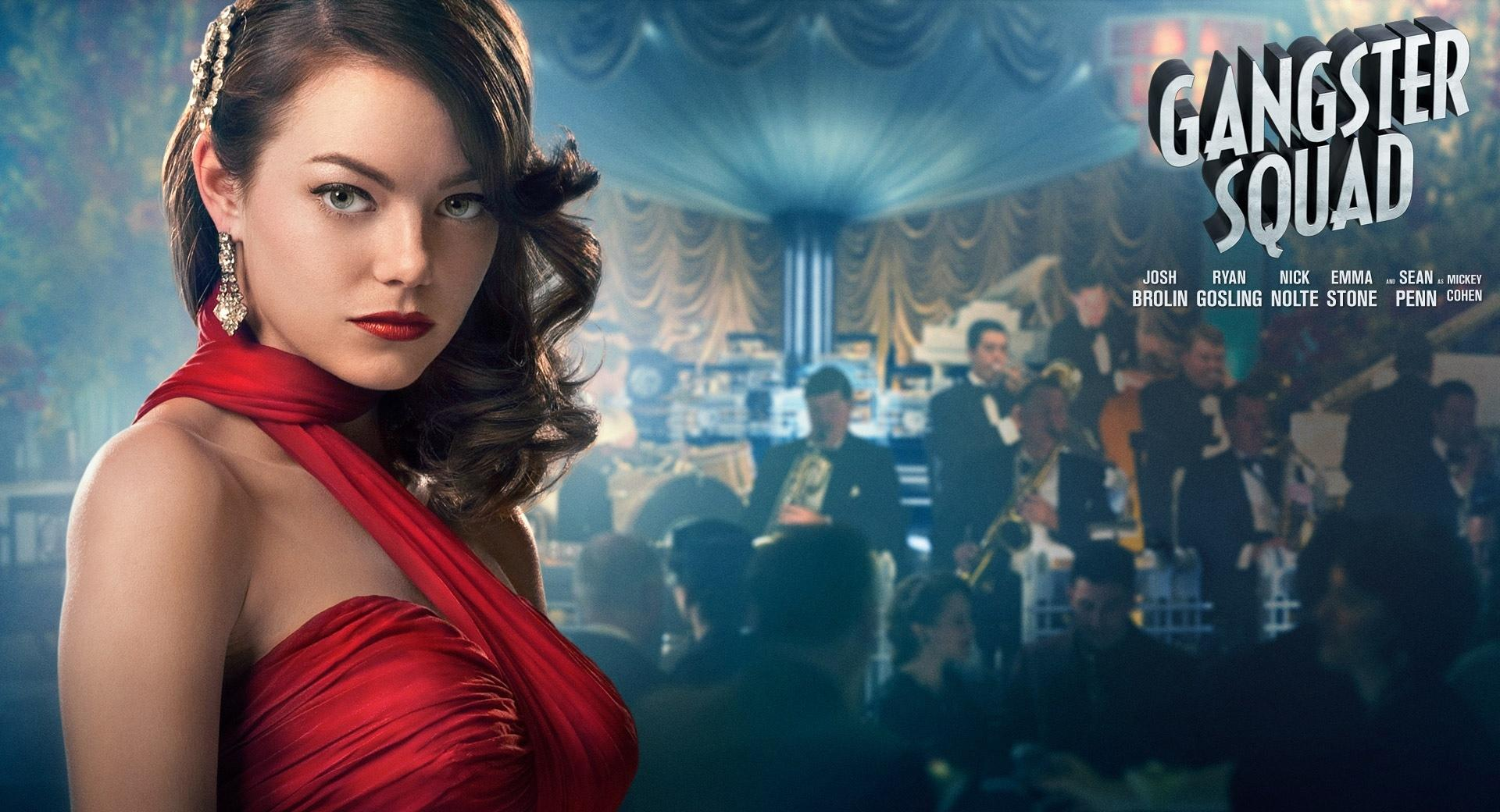 Emma Stone in Gangster Squad wallpapers HD quality