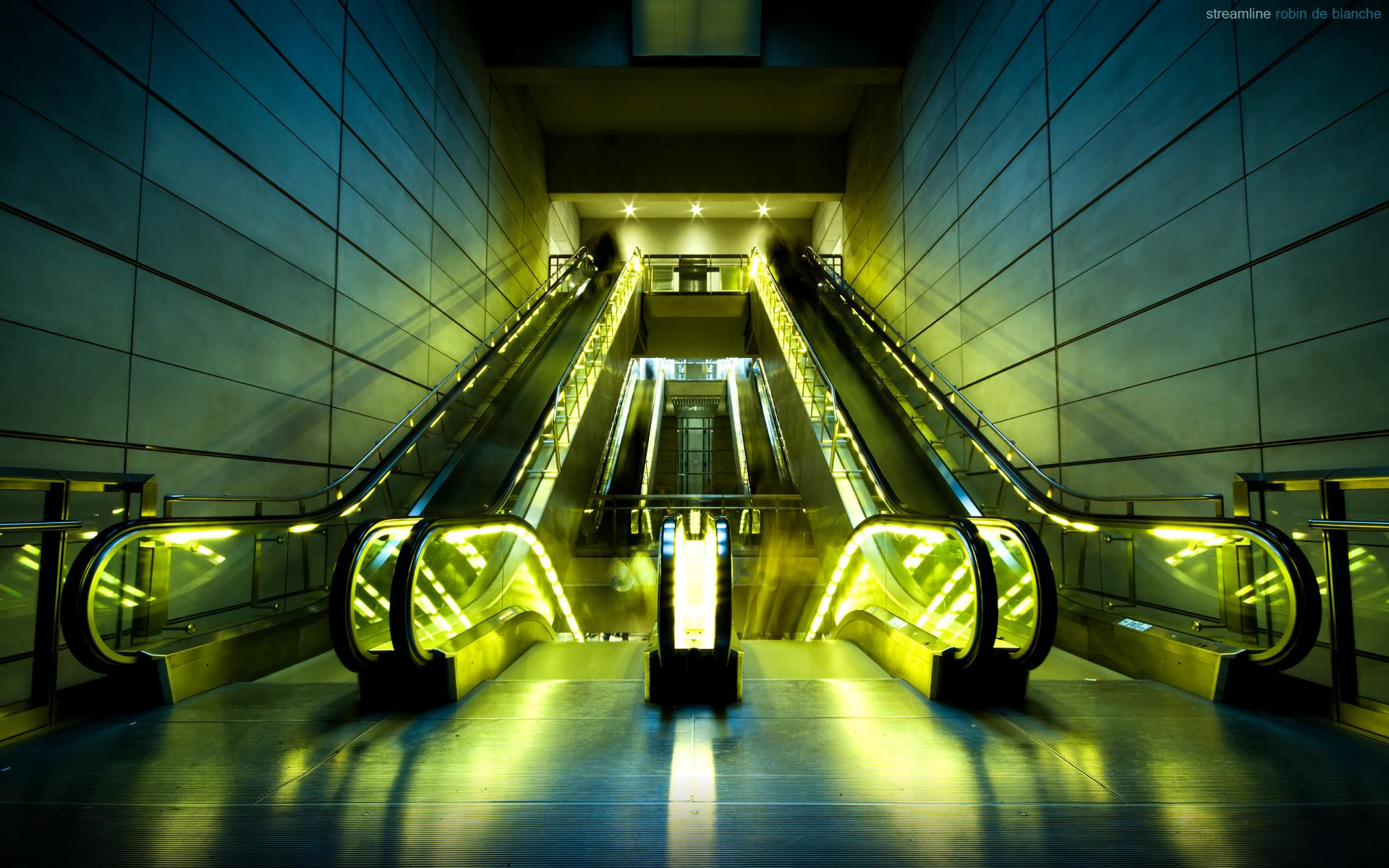 Escalator wallpapers HD quality