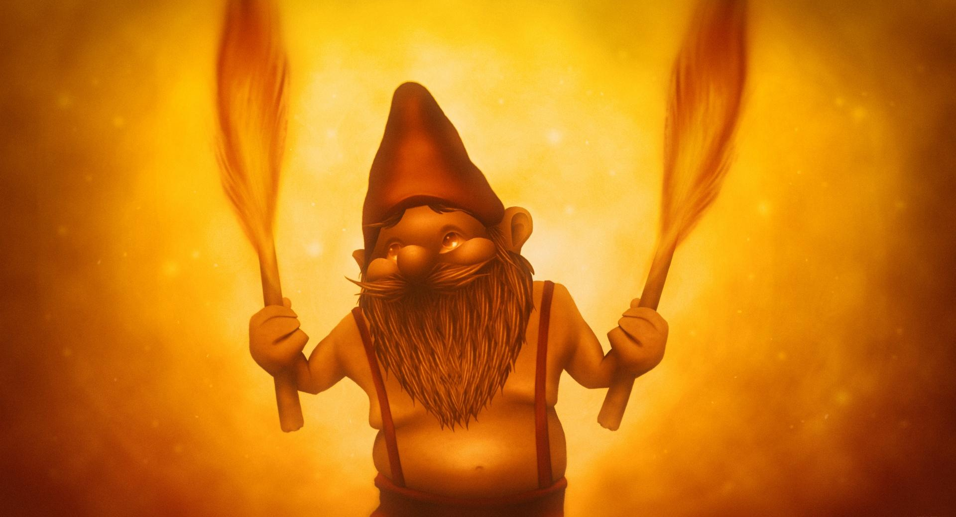Fire Gnome wallpapers HD quality