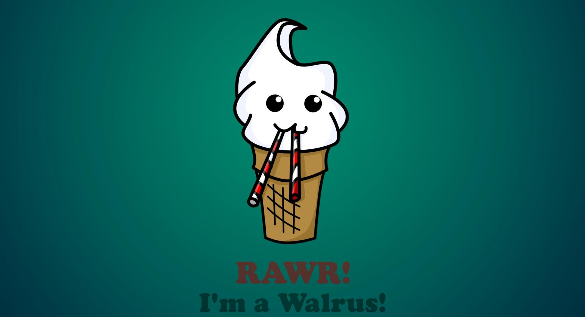 Funny Ice Cream at 640 x 960 iPhone 4 size wallpapers HD quality