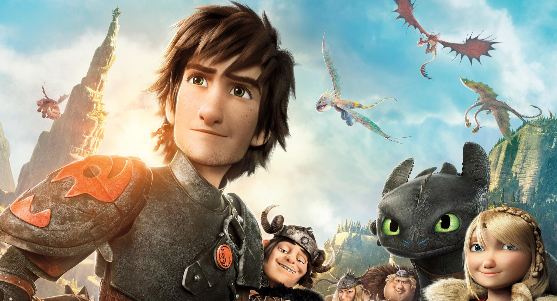How to Train Your Dragon 2 Characters wallpapers HD quality