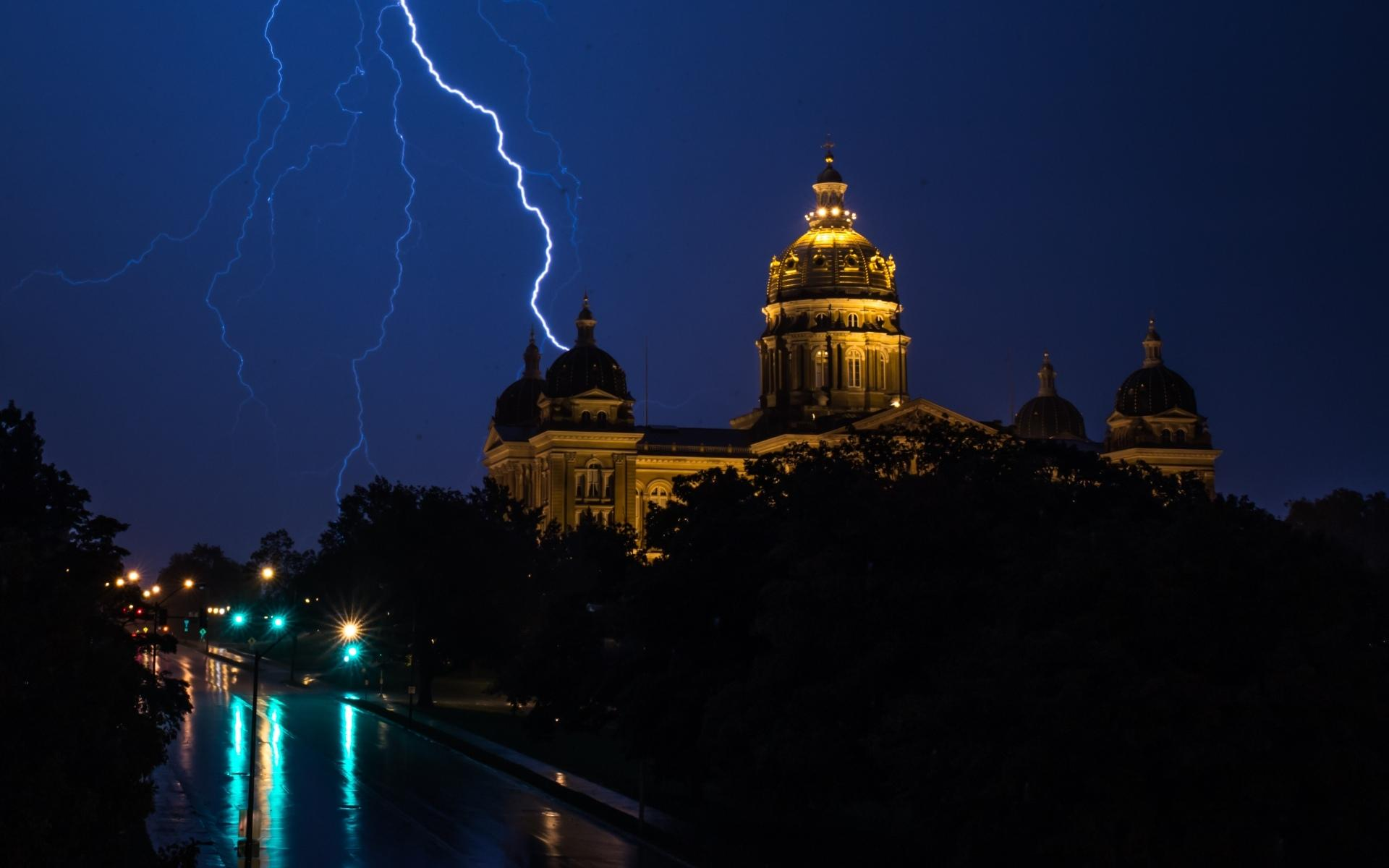 Iowa State Capitol wallpapers HD quality