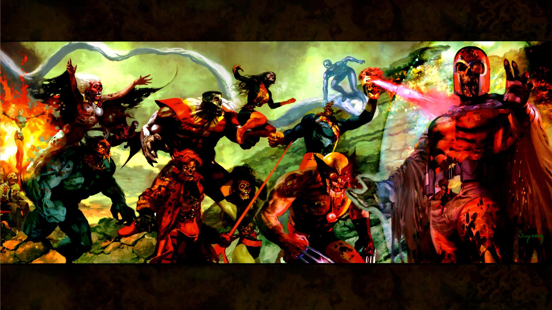 Marvel Zombies wallpapers HD quality