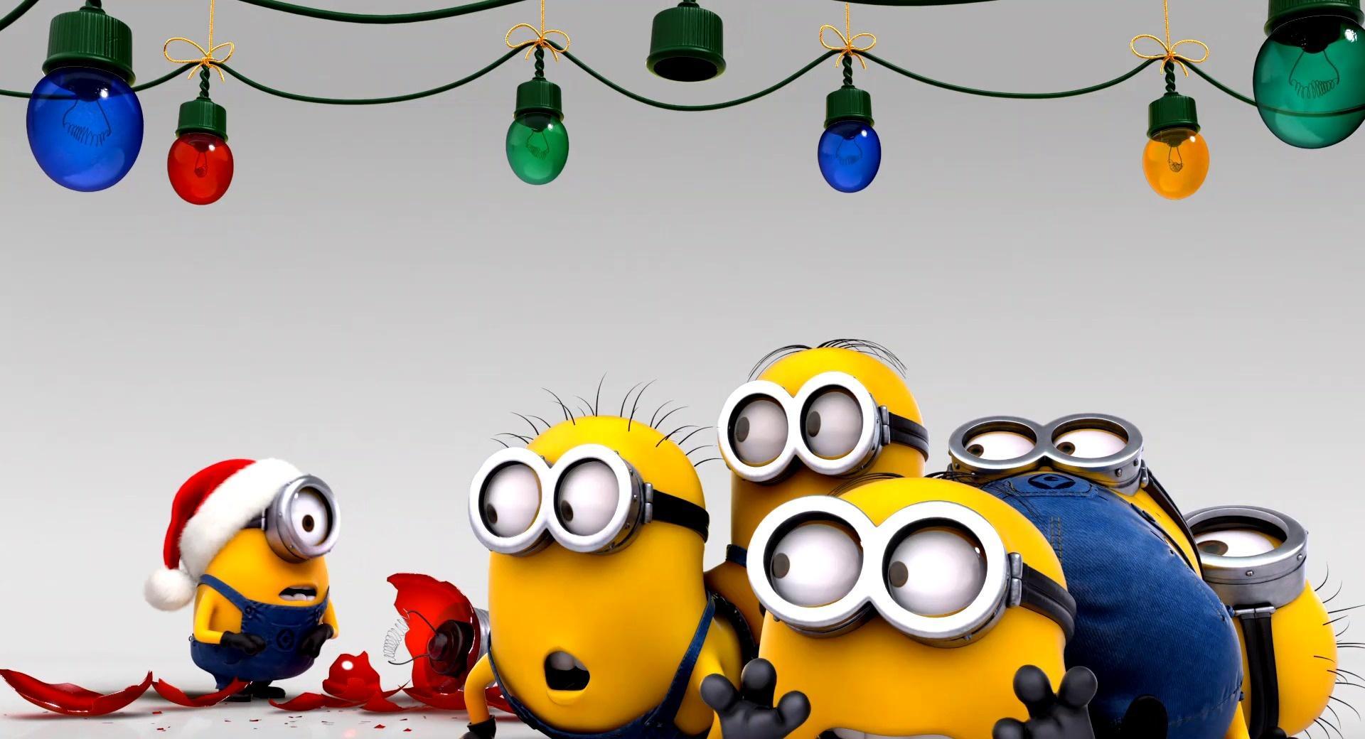 Minions Christmas wallpapers HD quality