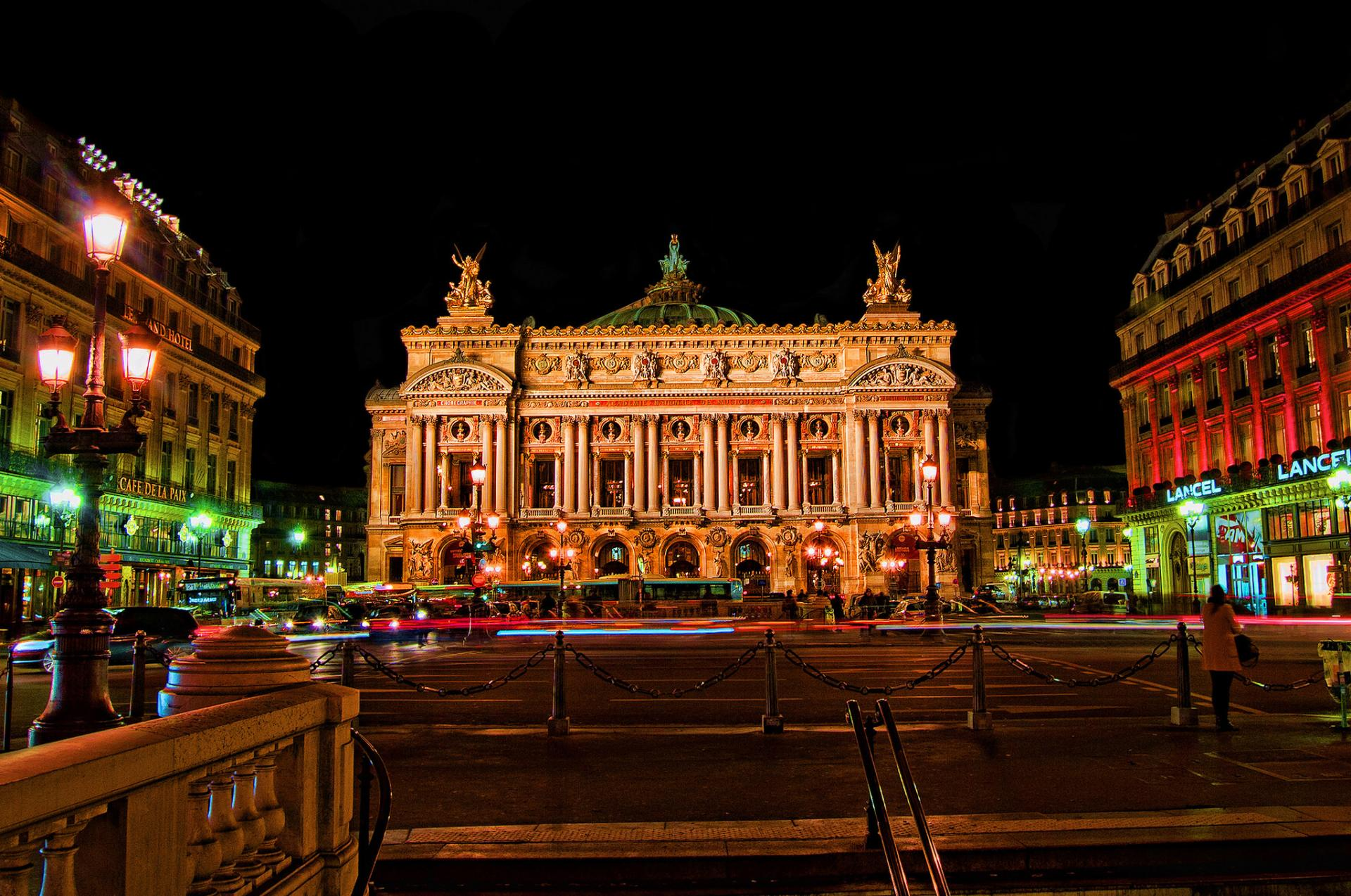 Palais Garnier wallpapers HD quality