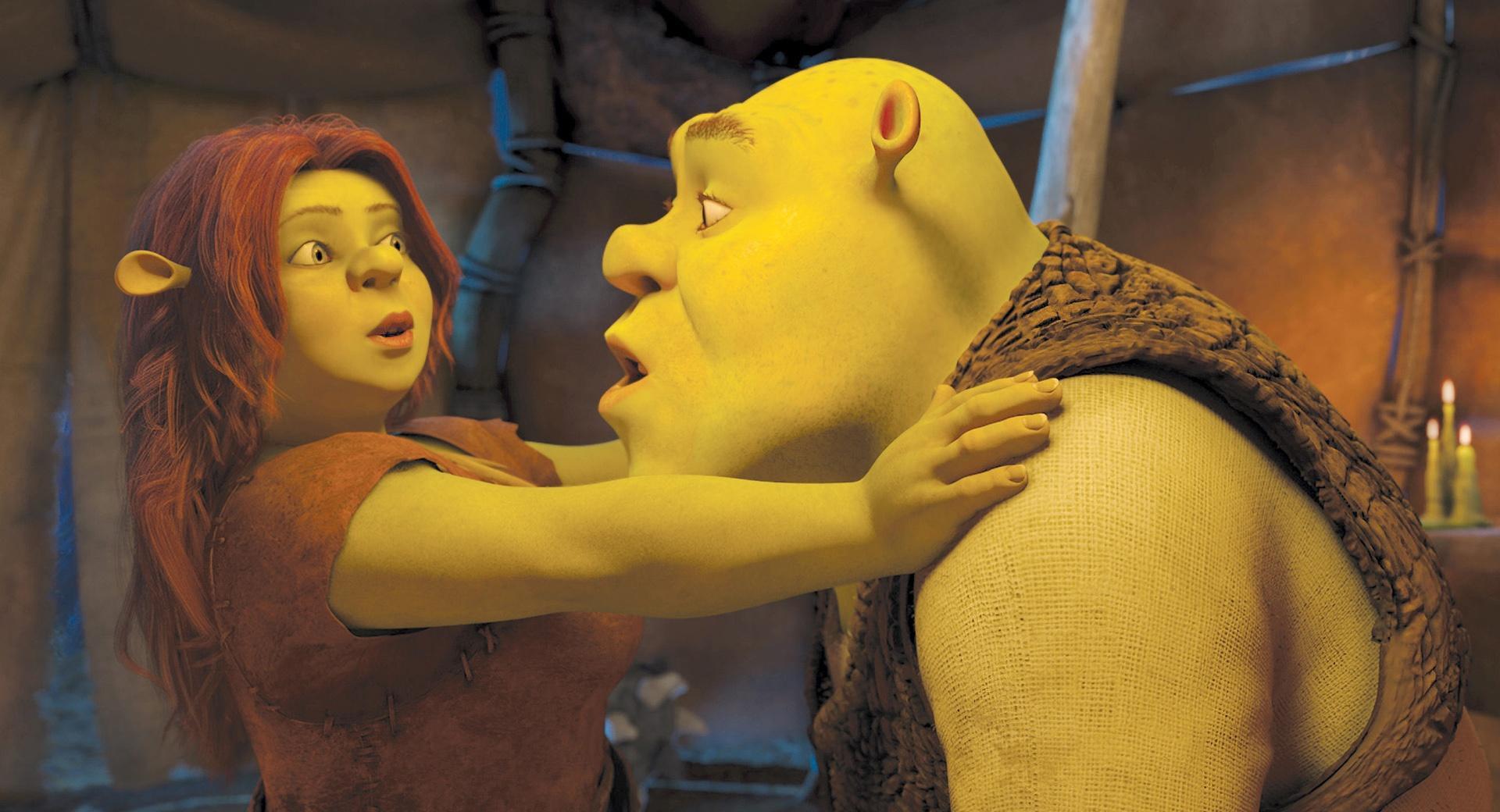 Princess Fiona and Shrek wallpapers HD quality