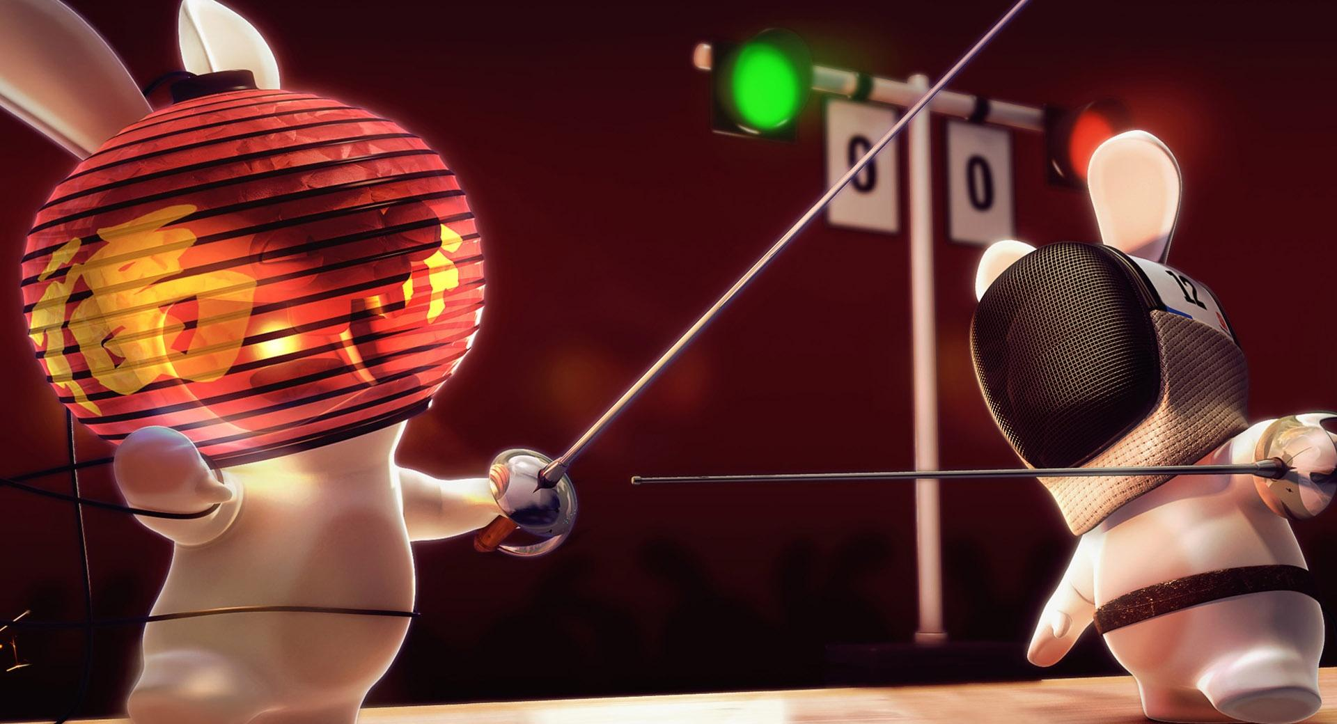 Rayman Raving Rabbids Fencing wallpapers HD quality