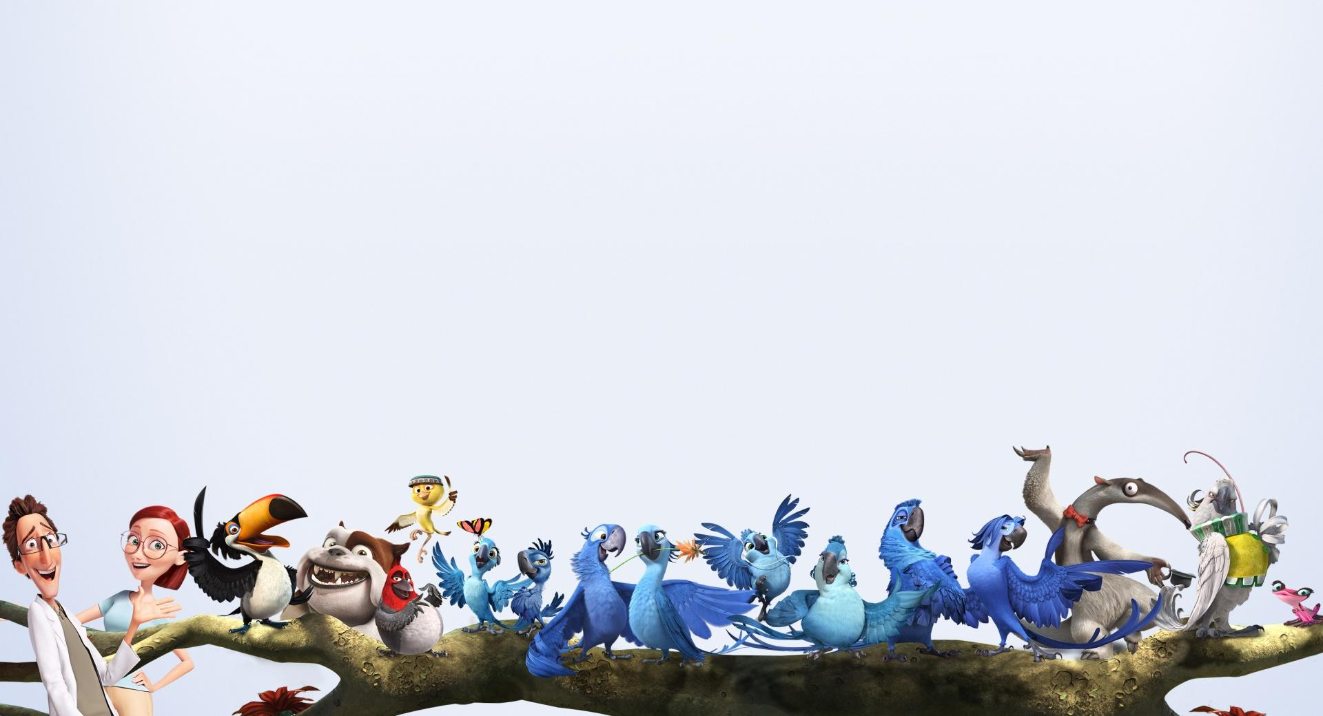 Rio 2 Characters wallpapers HD quality