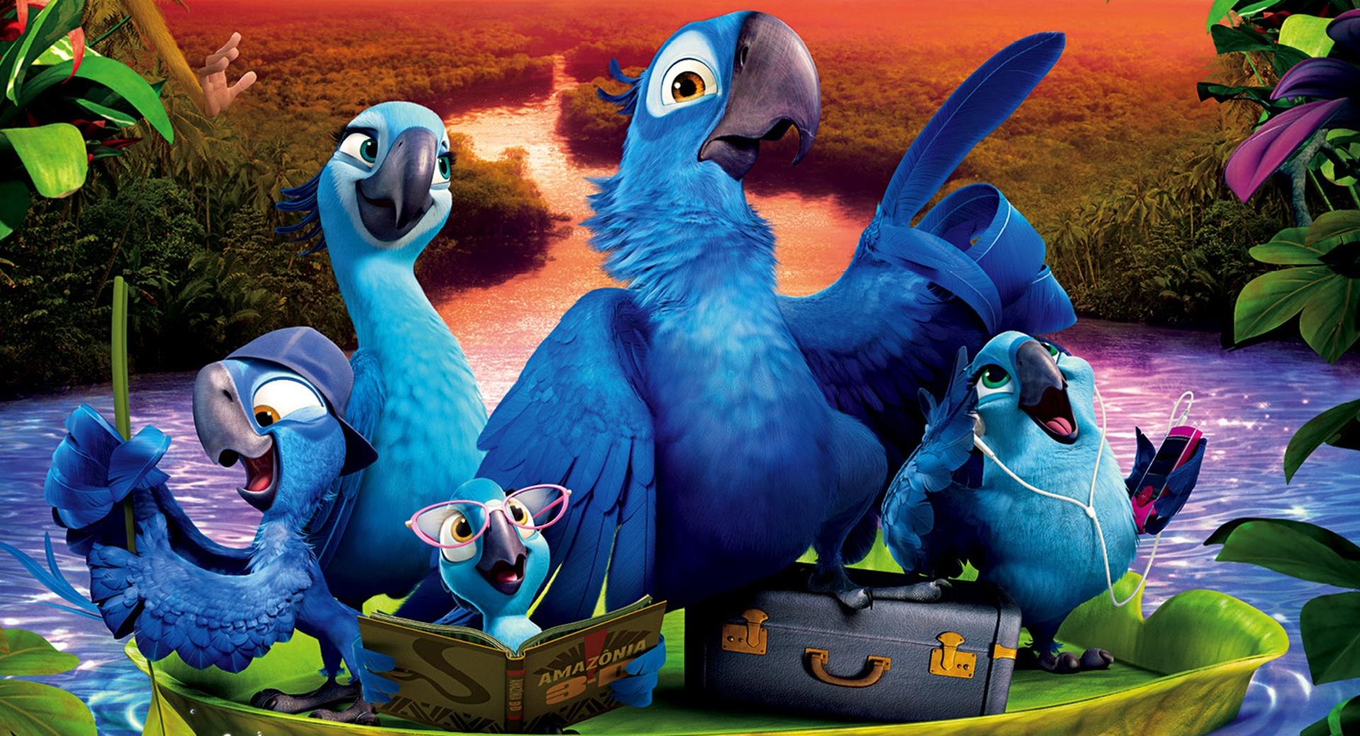 Rio 2 Kids at 1334 x 750 iPhone 7 size wallpapers HD quality
