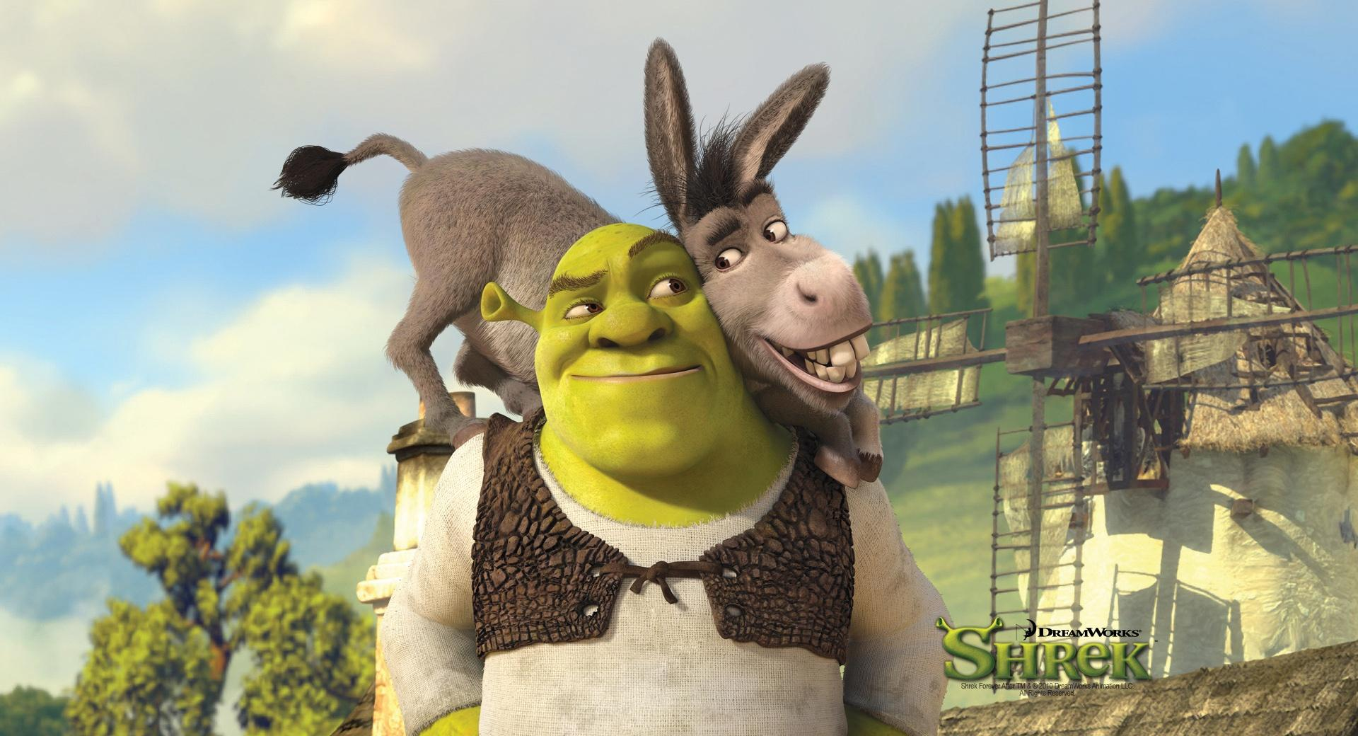 Shrek And Donkey, Shrek Forever After wallpapers HD quality