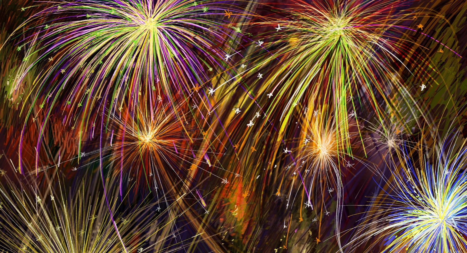 Special Fireworks Display, Independence Day wallpapers HD quality