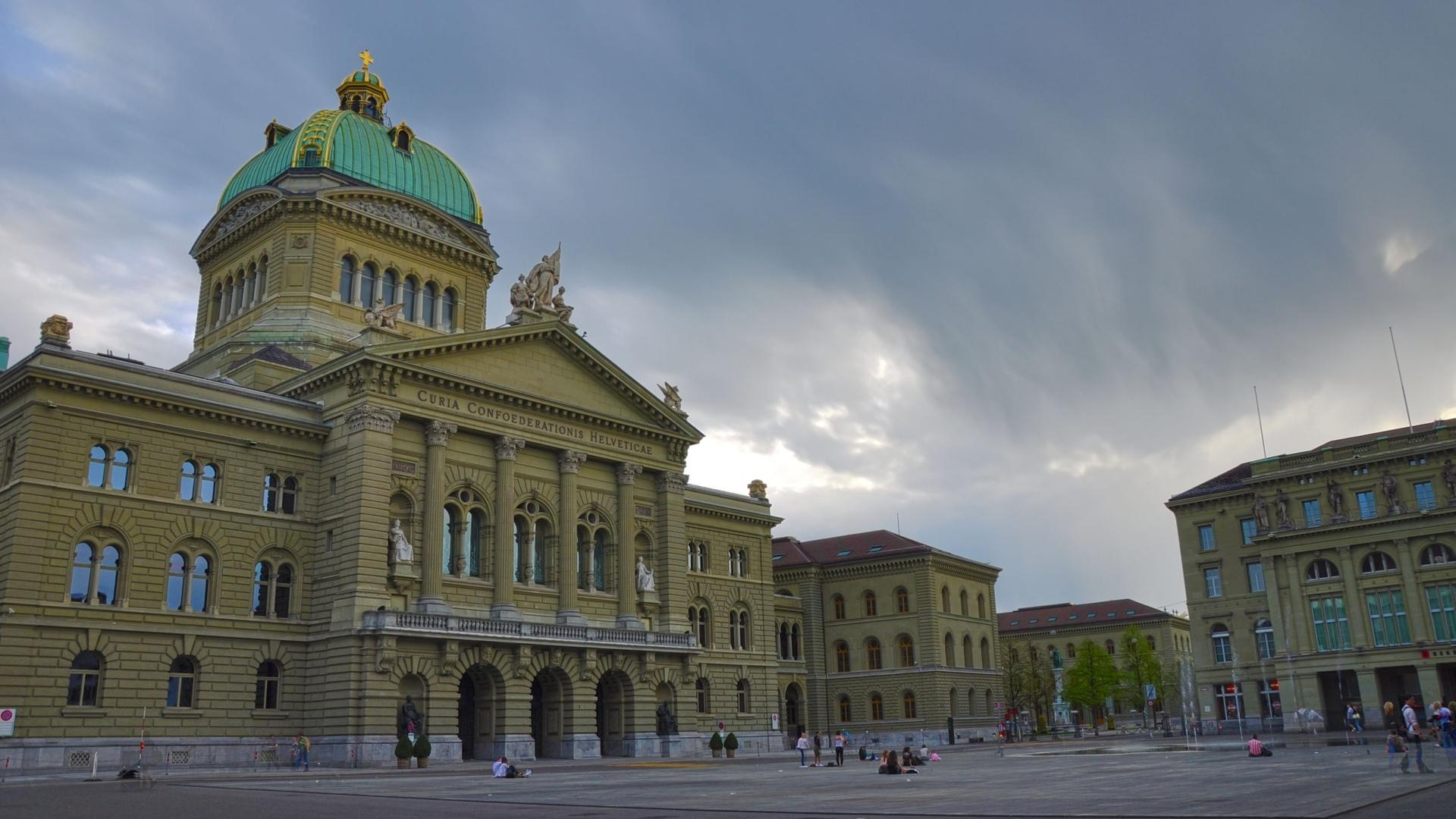 Swiss Parliament Building wallpapers HD quality