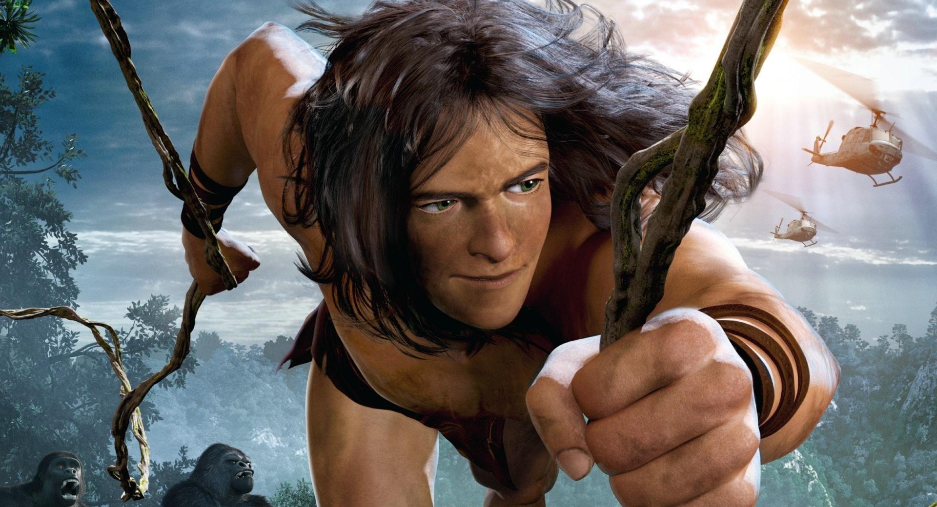 Tarzan oN 3D wallpapers HD quality