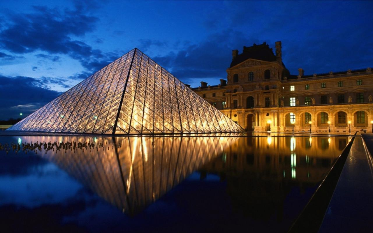 The Louvre wallpapers HD quality