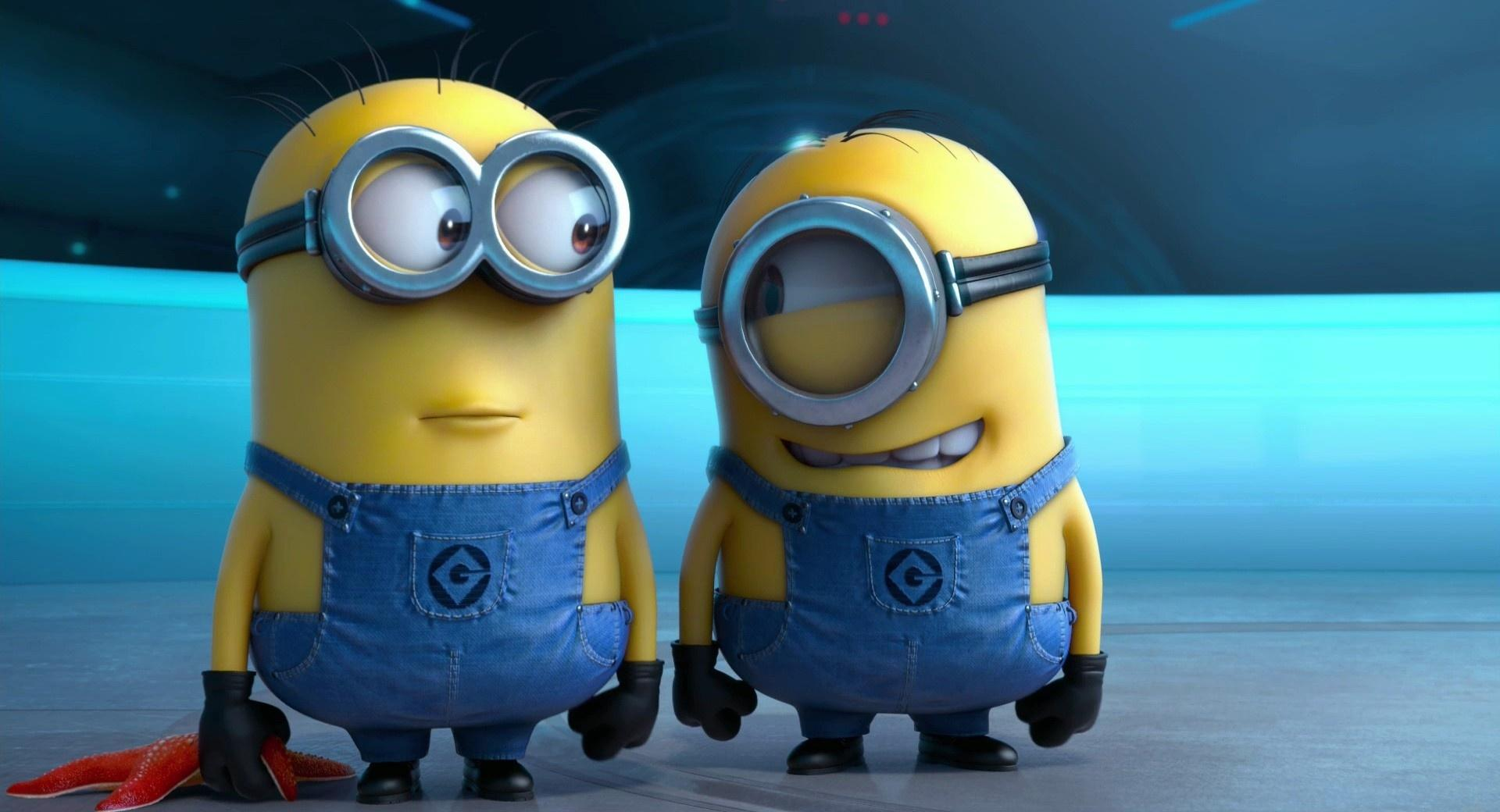 Two Minions wallpapers HD quality