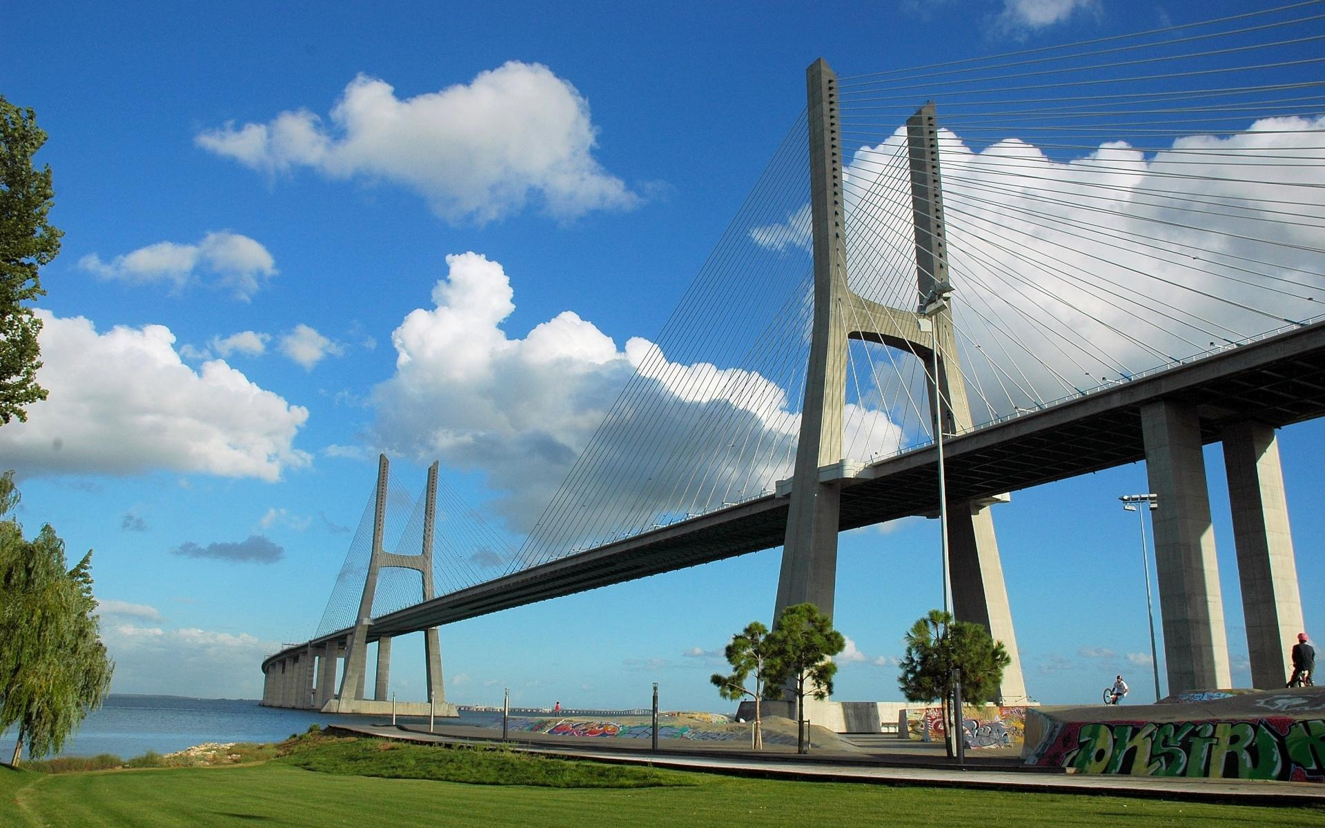 Vasco Da Gama Bridge wallpapers HD quality