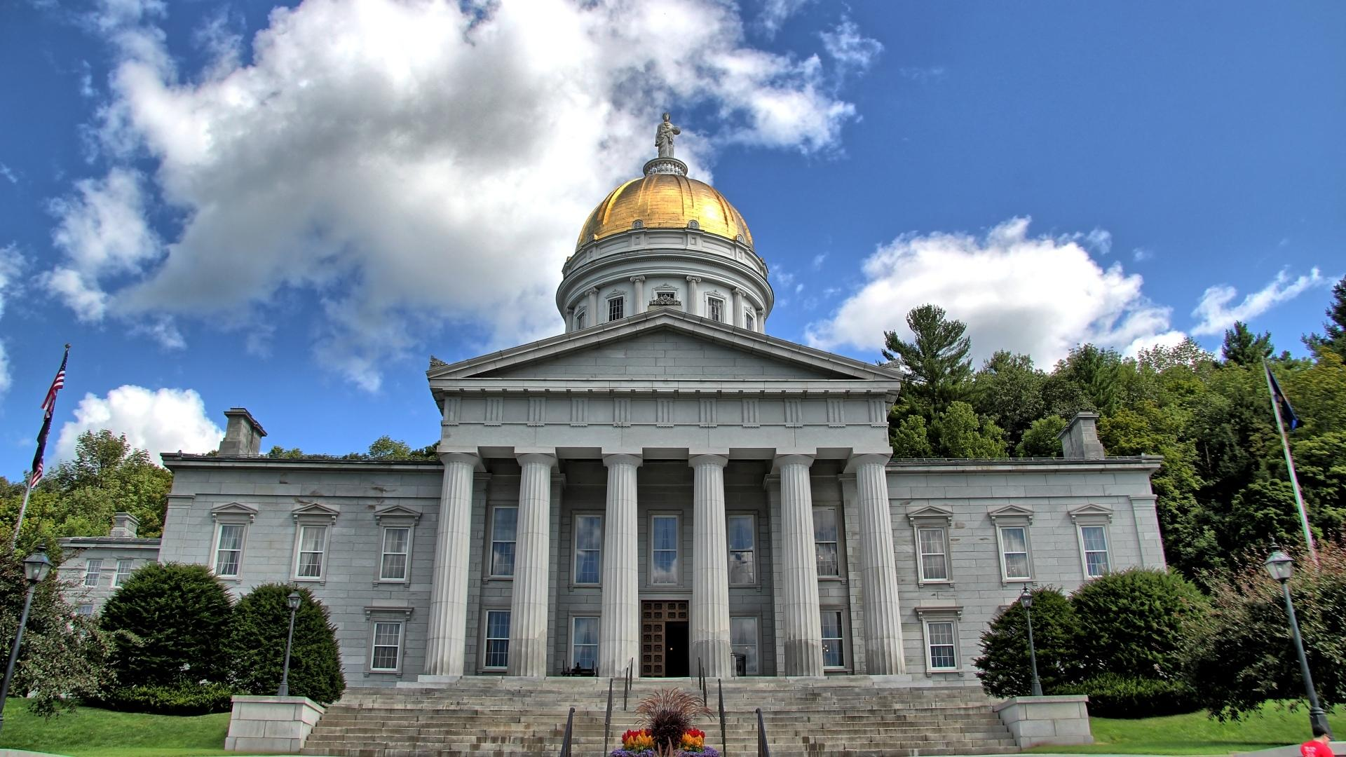 Vermont State House wallpapers HD quality