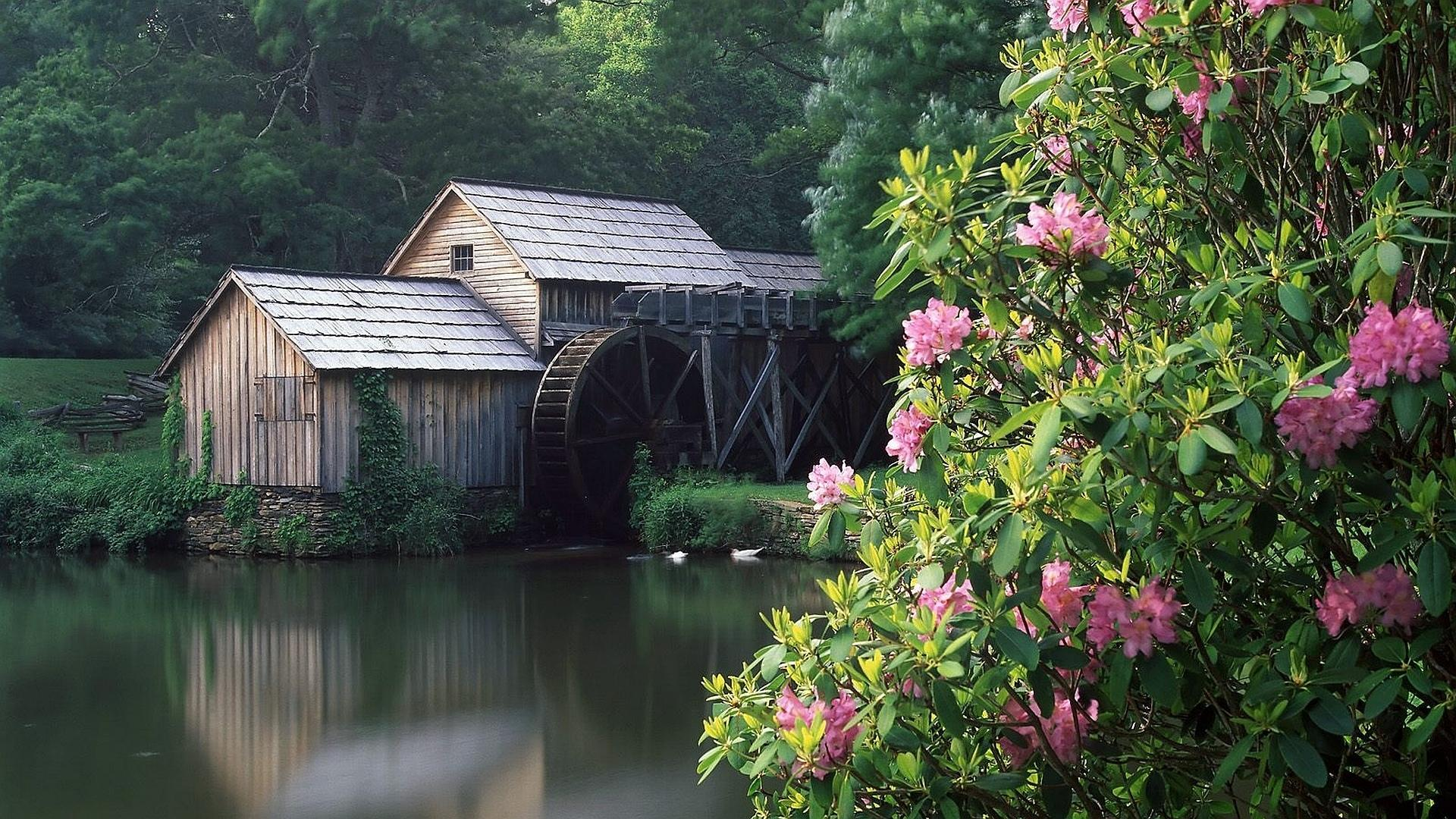 Watermill wallpapers HD quality