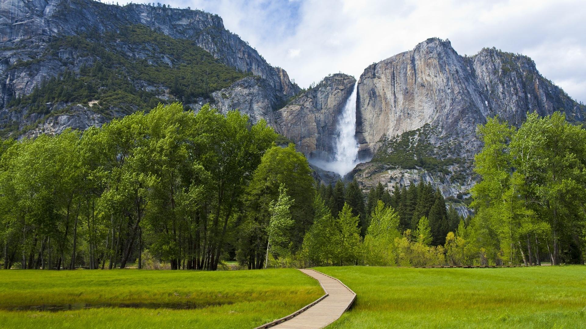 Yosemite Falls wallpapers HD quality