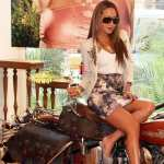 Girls and Motorcycles hd pics