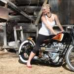 Girls and Motorcycles new photos