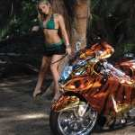Girls and Motorcycles new wallpaper