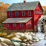 Watermill high definition photo