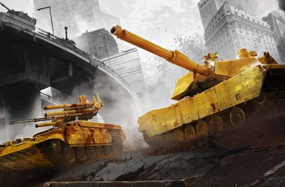 Armored Warfare City Battle wallpapers hd quality
