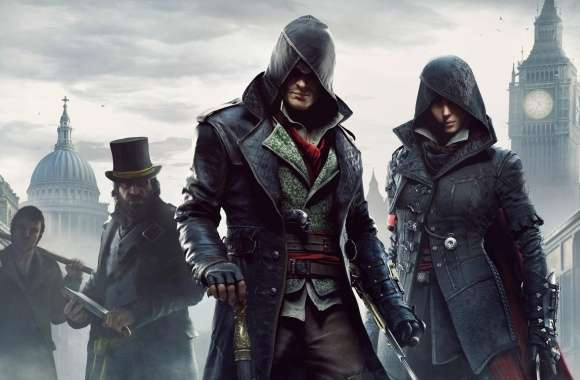 Assassins Creed Syndicate Jacob and Evie