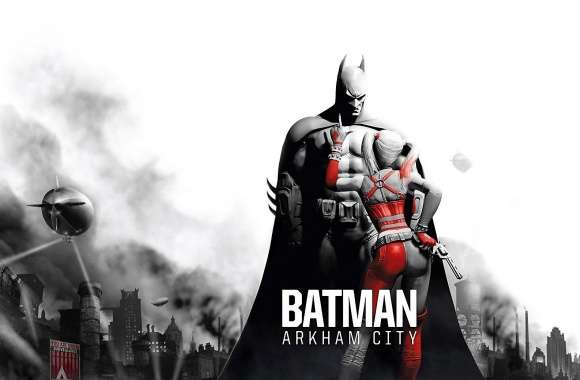 Batman Arkham City - Batman Harley