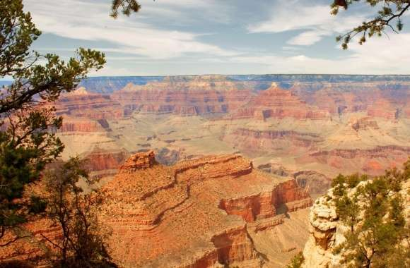 Beautiful Canyon  Panoramic View
