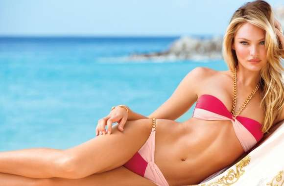 Candice Swanepoel 2014 Swim wallpapers hd quality
