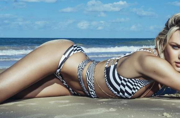 Candice Swanepoel 2014 Swimwear wallpapers hd quality