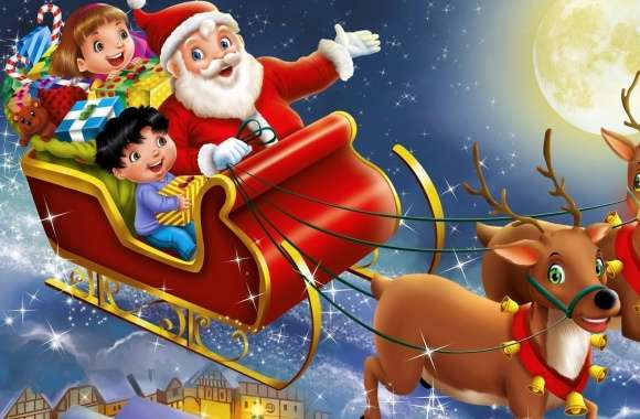 Christmas, Santa Claus wallpapers hd quality