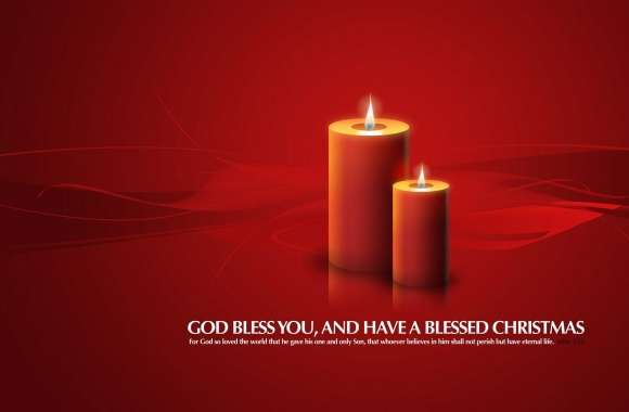 Christmas Candles Red wallpapers hd quality
