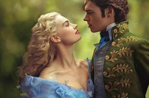 Cinderella and Prince 2015 wallpapers hd quality
