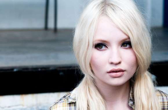 Emily Browning Blonde Hair