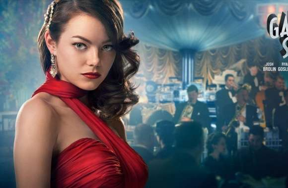Emma Stone in Gangster Squad