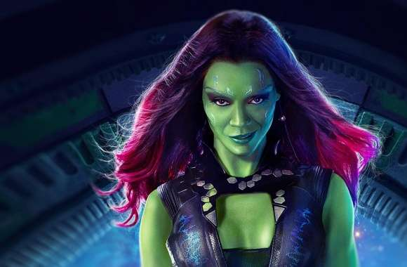 Gamora - Guardians Of The Galaxy 2014 Movie