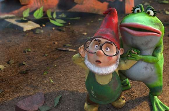 Gnomeo and Juliet, Paris And Nanette wallpapers hd quality