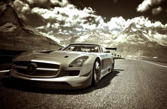 Gran Turismo Mercedes Race Car