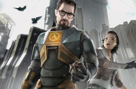 Half-Life 2 - Gordon and Alyx