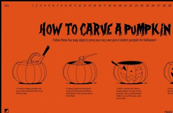 Happy Halloween 2016, How to Carve a Pumpkin