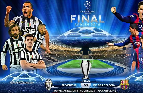 JUVENTUS - FC BARCELONA CHAMPIONS LEAGUE FINAL wallpapers hd quality