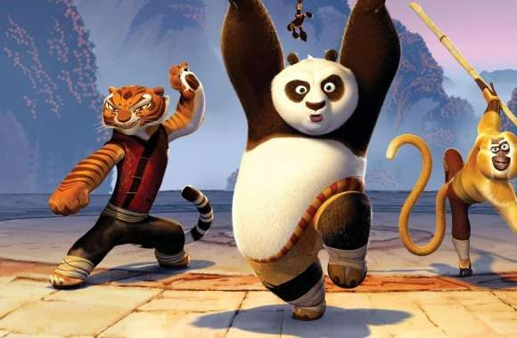 Kung Fu Panda 2 Movie wallpapers hd quality