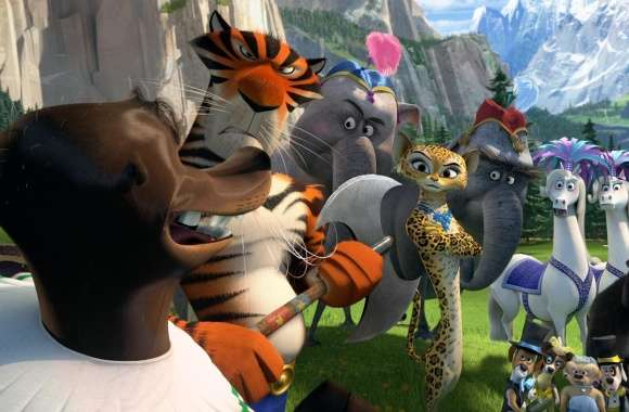 Madagascar 3 Circus Gang wallpapers hd quality