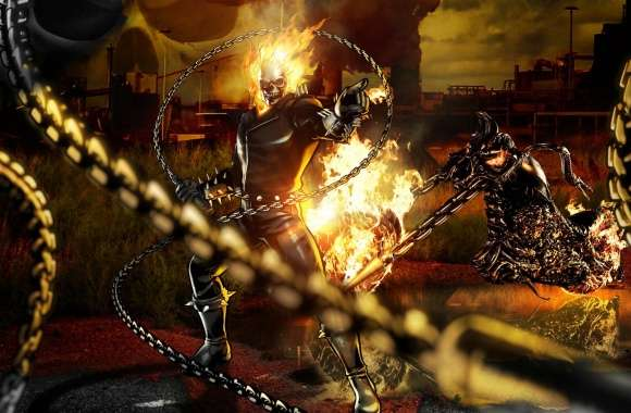 Marvel vs Capcom 3 - Ghost Rider